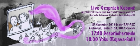 Kobane Gesprächsrunde